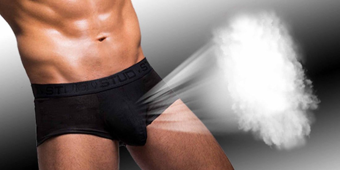 stud briefs - cooling breathable - scrotal support